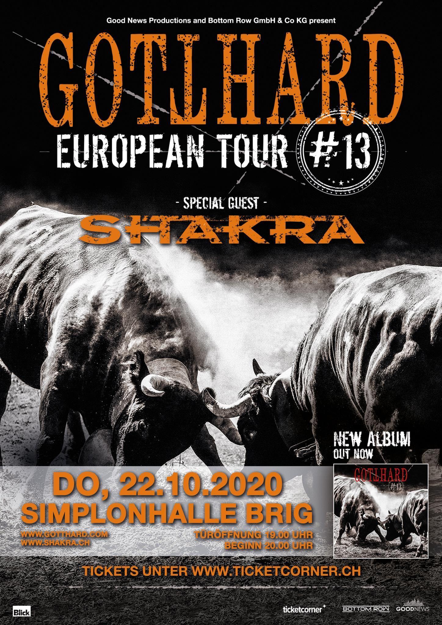 Plakat Gotthard
