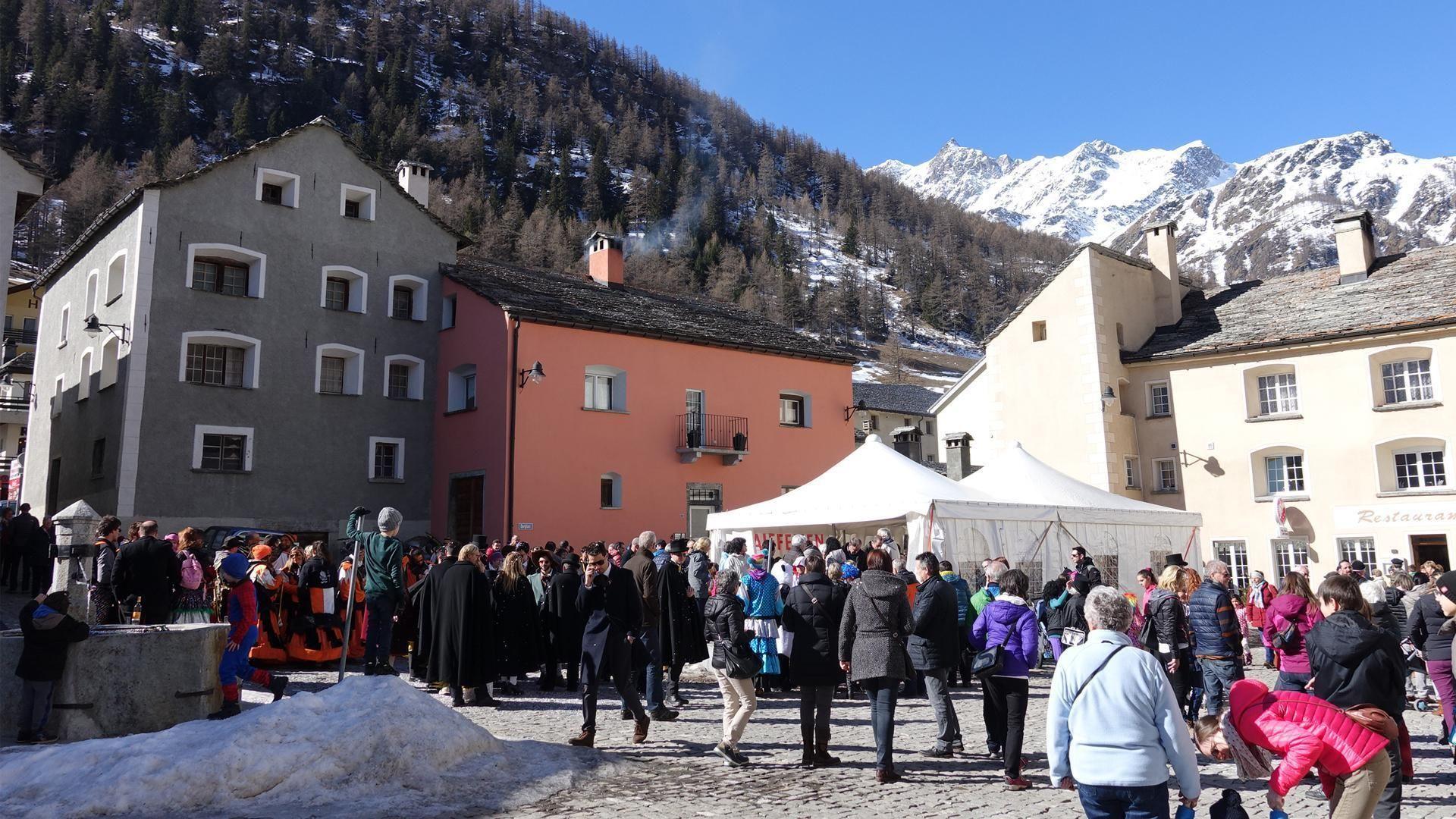 Polentafest Simplon Dorf