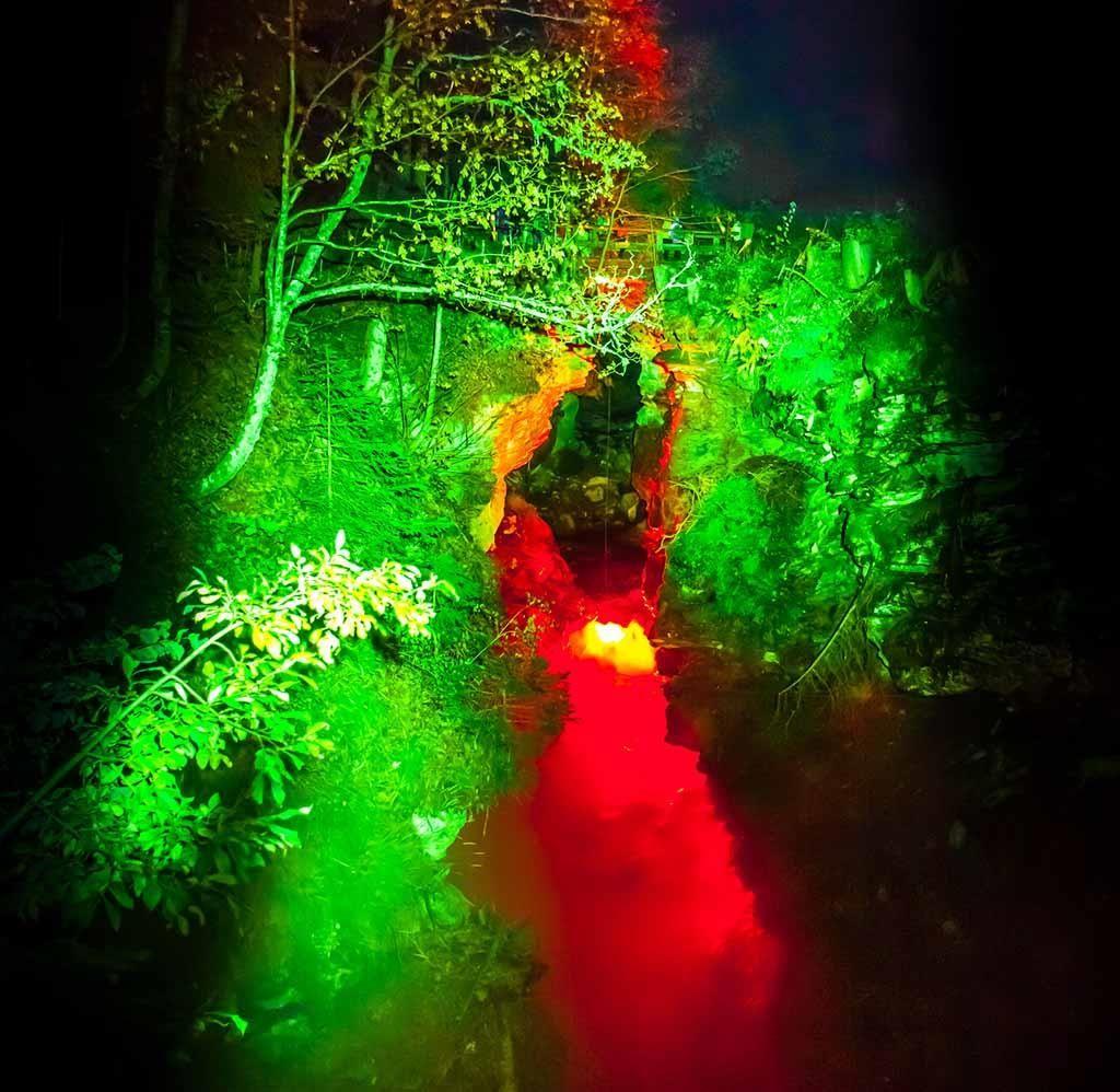 Mystische Dalaschlucht-Beleuchtung 2