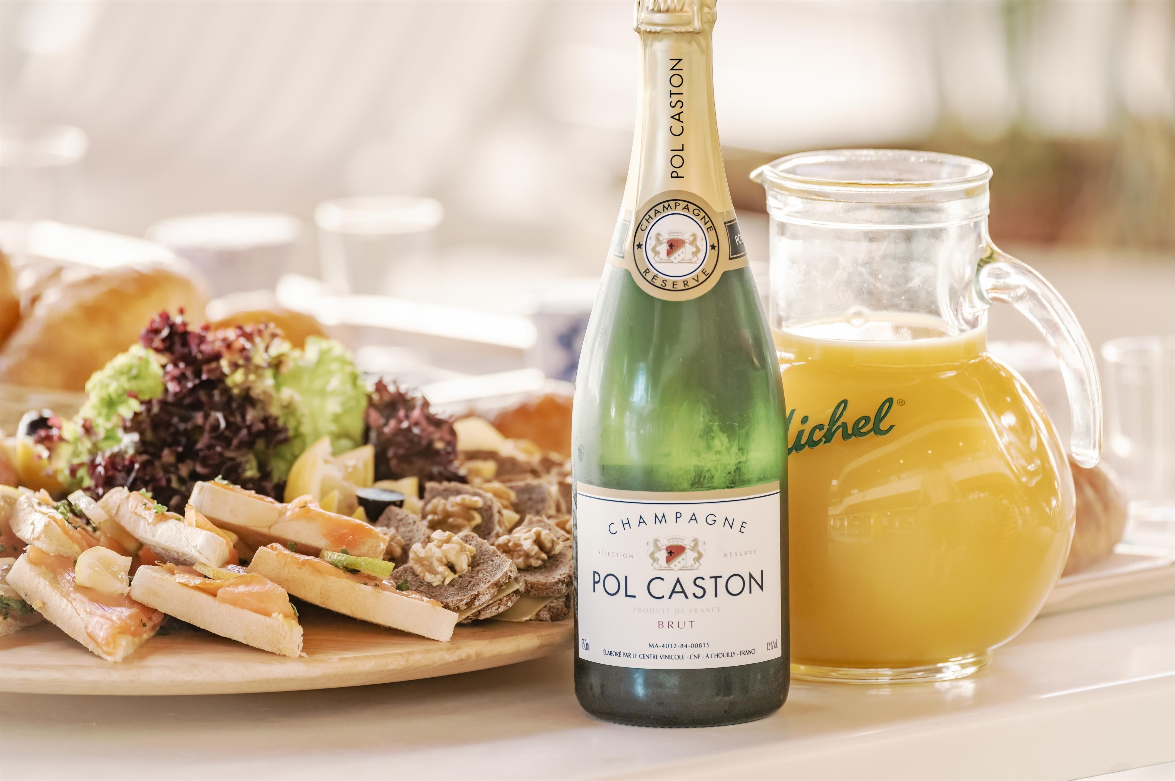 Champagner-Frühstück 2