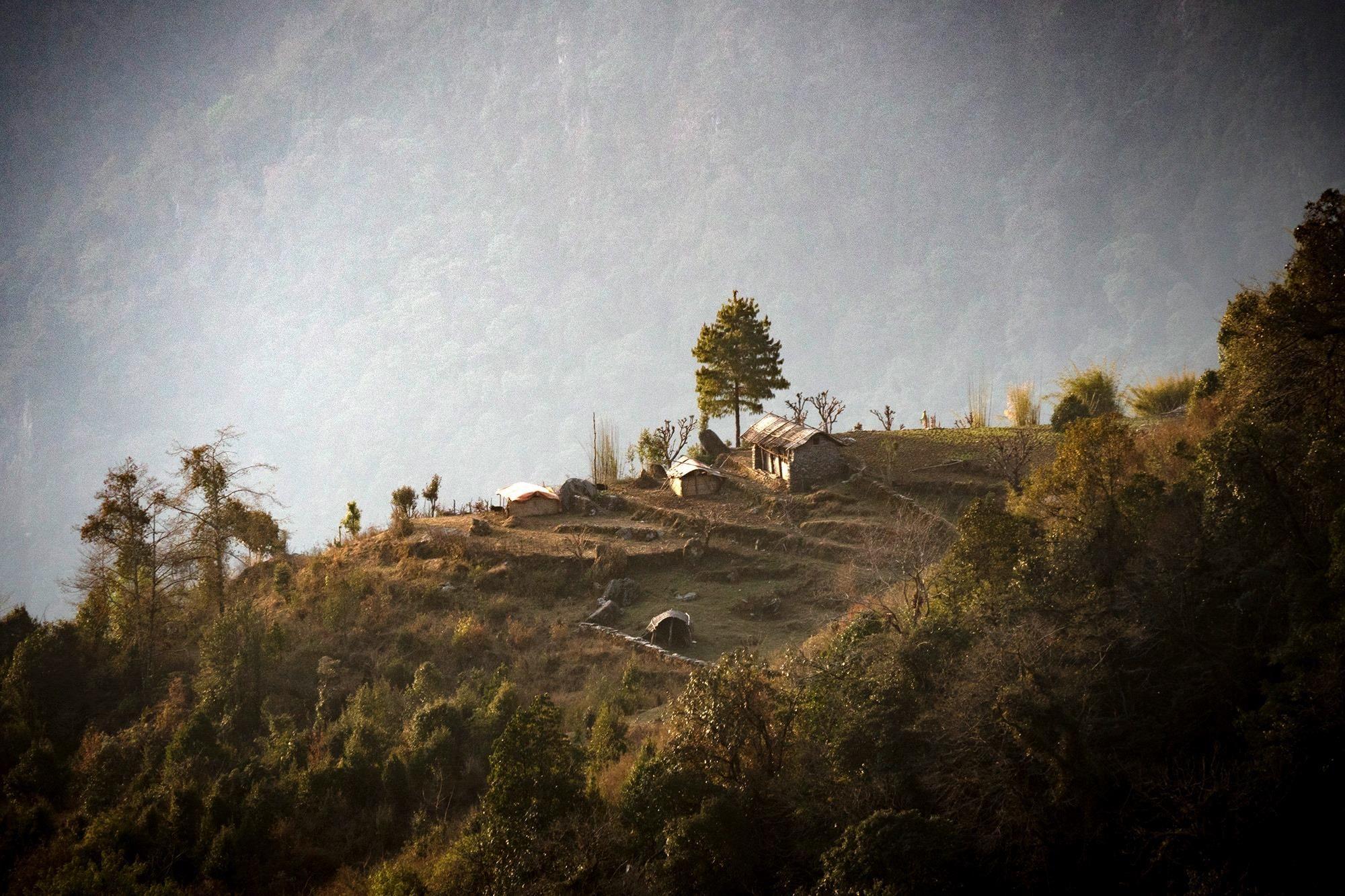 Nepal Dorf