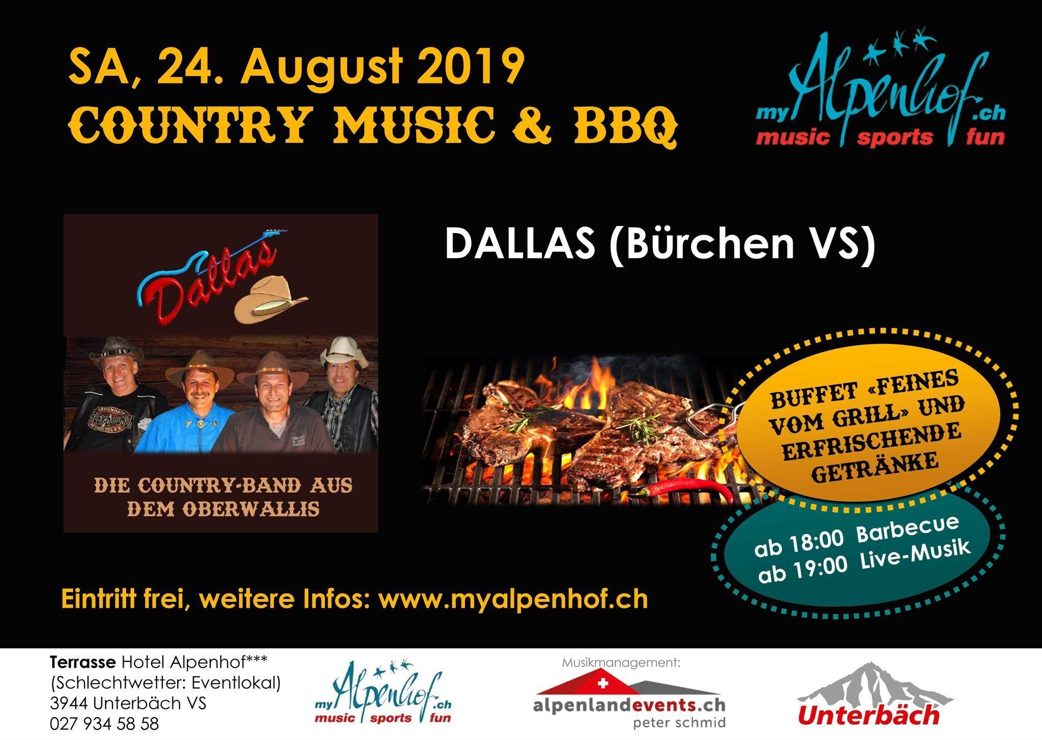 Live-Musik & BBQ: Dallas