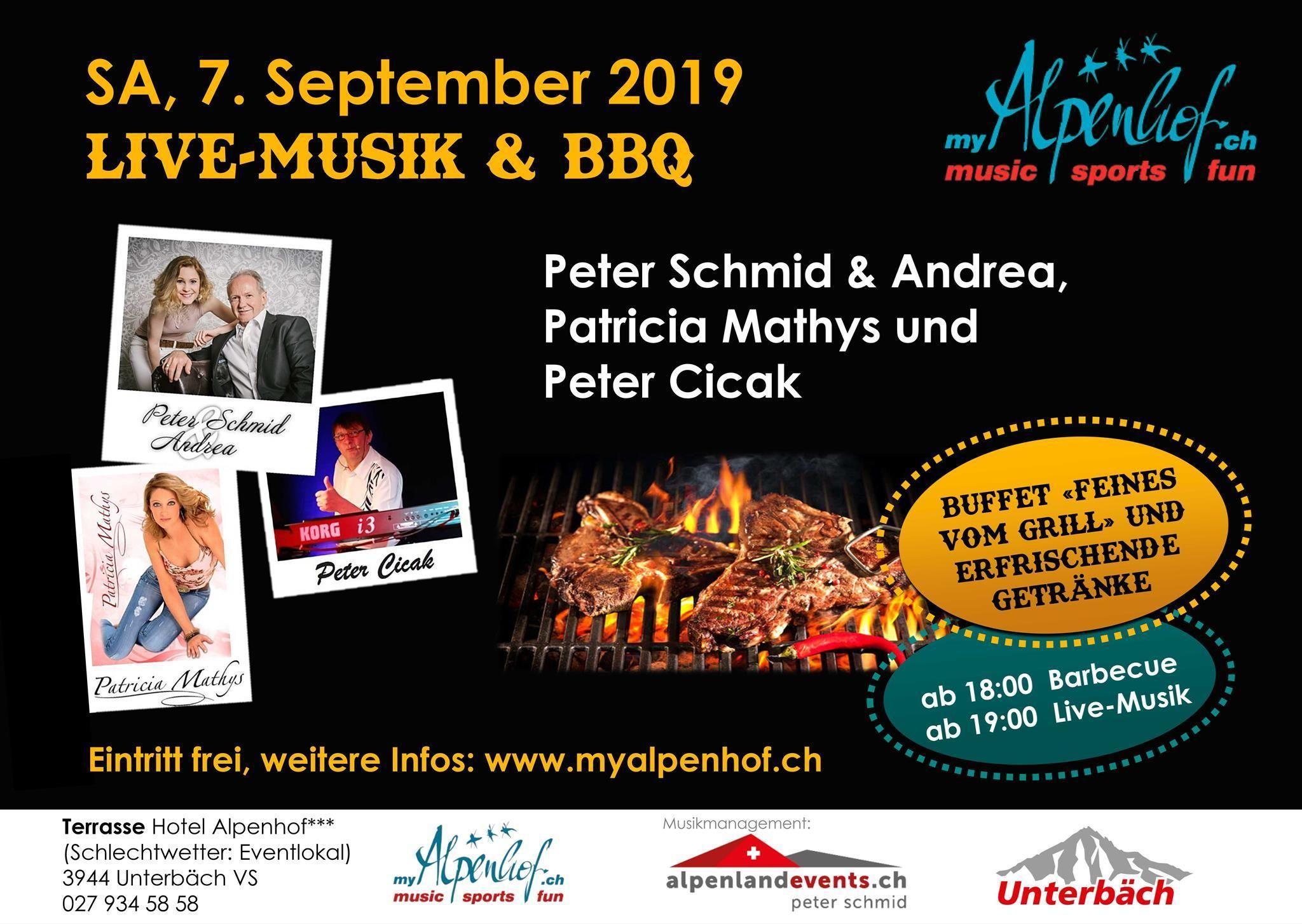 Live Musik & BBQ Peter Schmid