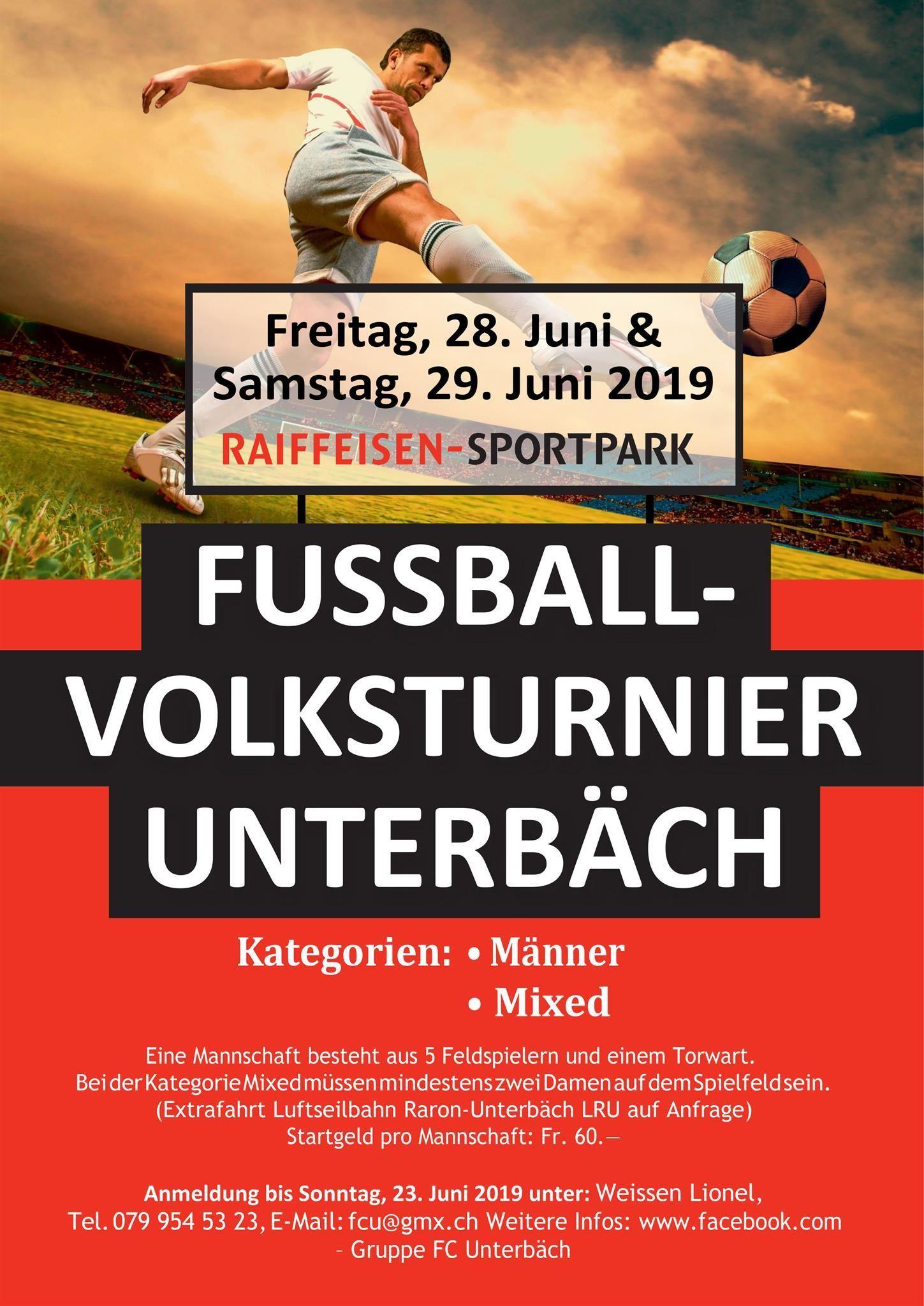 Dofrturnier Fussball