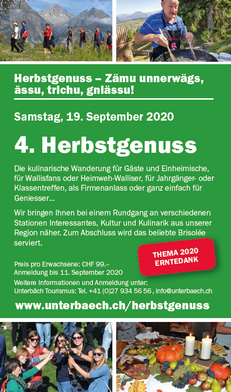 Herbstgenuss September 2020