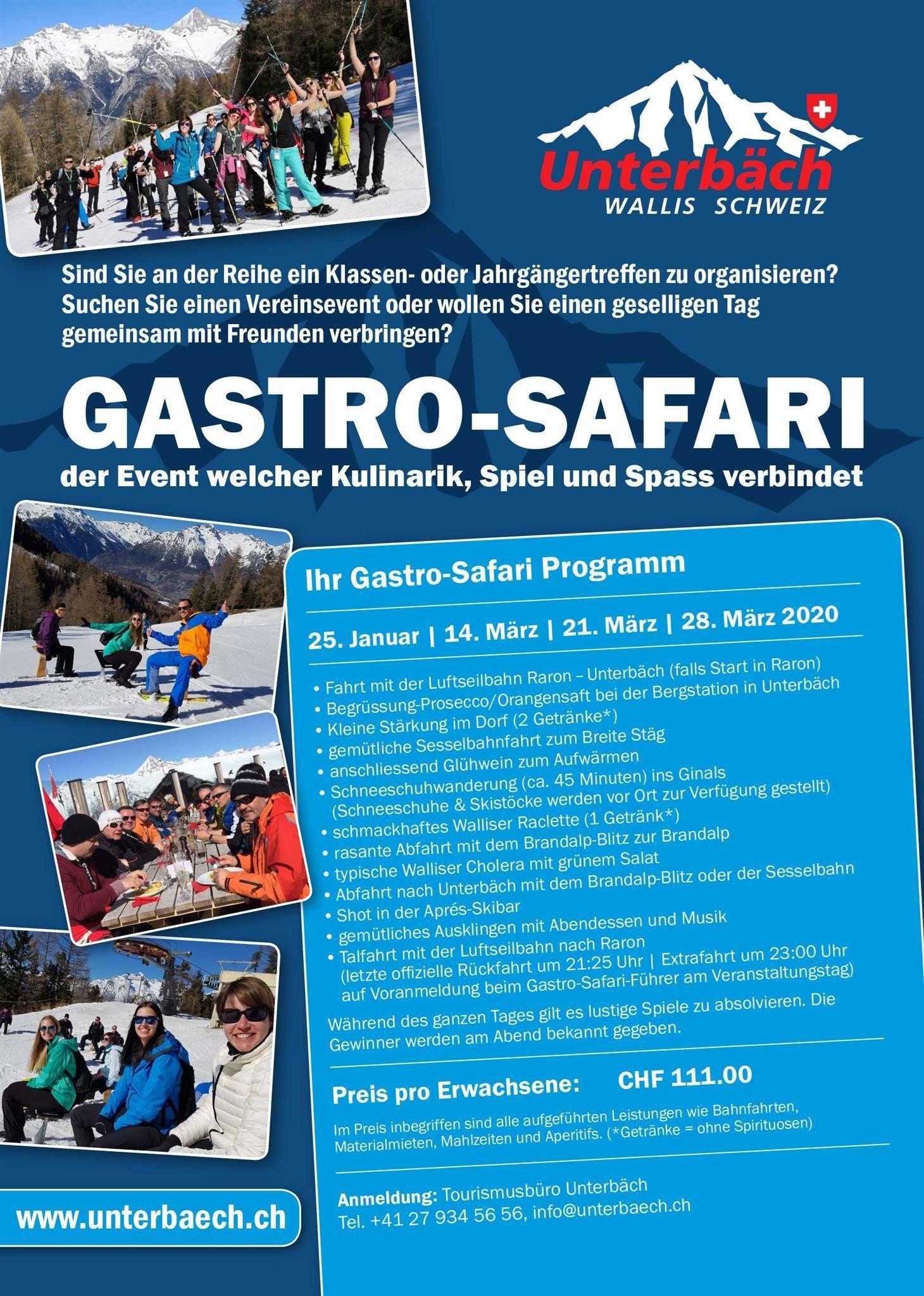 Gastro-Safari 2020